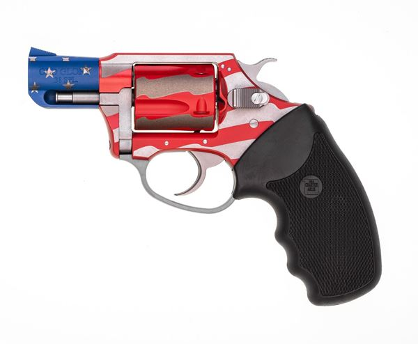 """Picture of Charter Arms Old Glory .38 Special 2"""" Barrel 5rd, Red White Blue Aluminum Frame Revolver"""