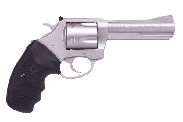 """Picture of Charter Arms Pitbull® 9mm 5rd 4.2"""" Barrel Stainless Steel Revolver"""