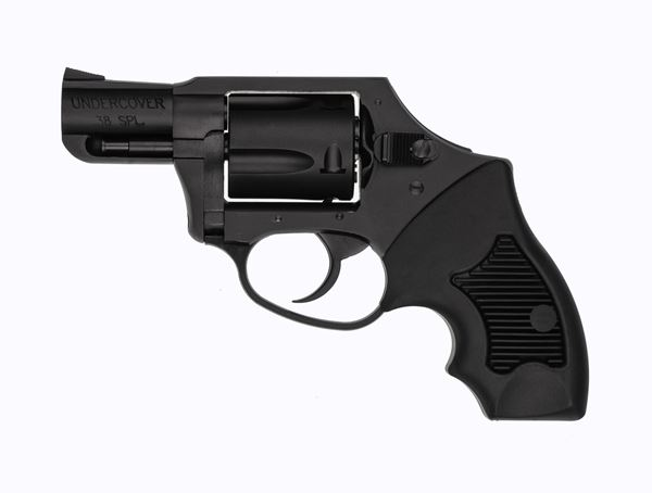 """Picture of Charter Arms Undercover .38 Special 2"""" Barrel 5rd Black Stainless Steel DAO Revolver"""