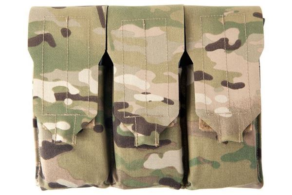 Picture of Blue Force Gear-Triple M4 Mag Pouch - Classic style with flap, one mag per pocket - MultiCam®