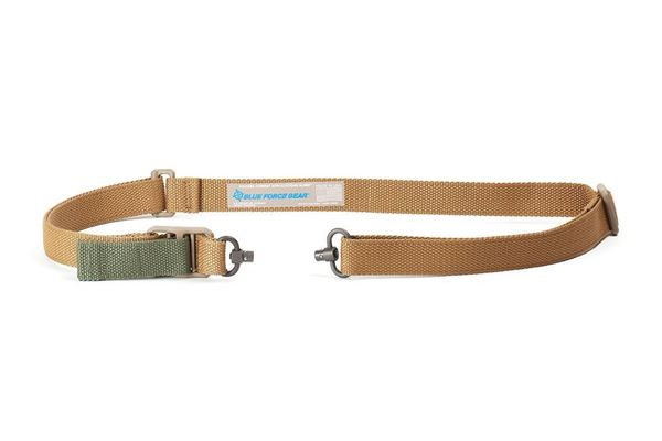 Picture of Blue Force Gear Vickers Push Button Sling Nylon Hardware w/ Push Button Swivels