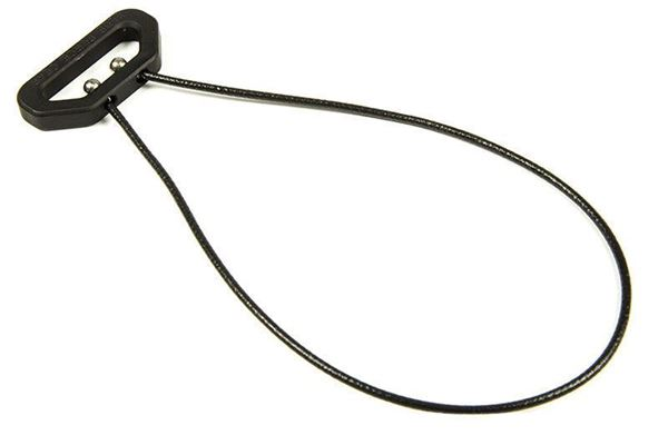 """Picture of Blue Force Gear UWL (Universal Wire Loop) 6.25"""" Wire Length Black"""