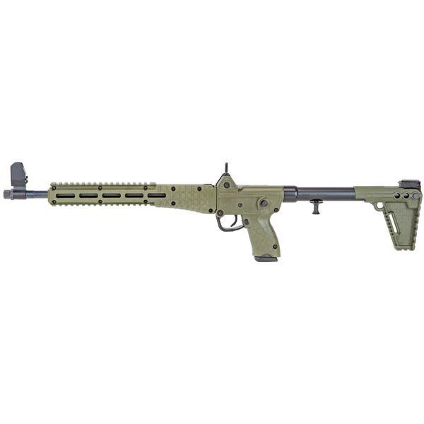 Picture of KEL-TEC SUB2000 Gen2 Carbine 9mm Glock 17 Green Finish 17rd