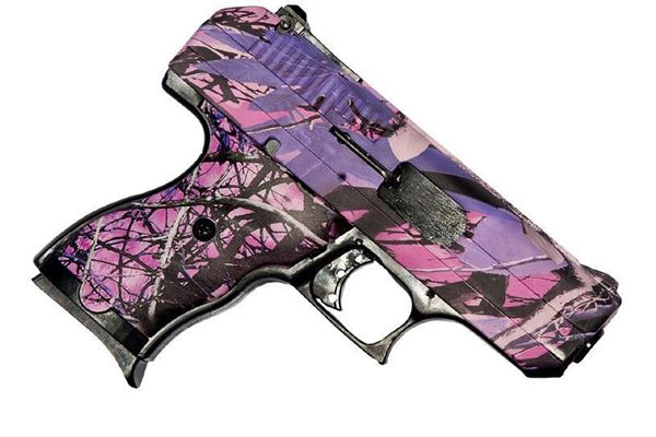 Picture of Hi-Point Firearms CF380 380ACP Pink Camo 8 Round Pistol