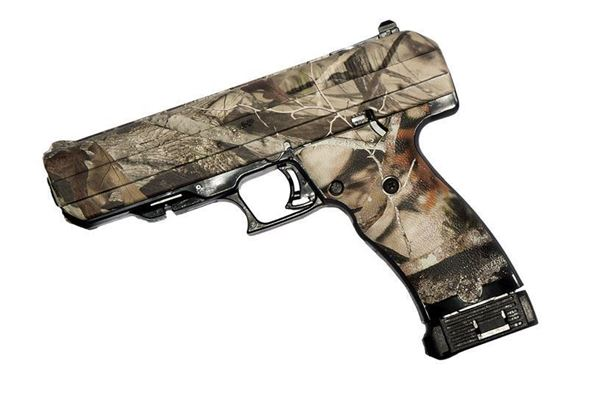 Picture of Hi-Point Firearms JHP 45 ACP Woodland Camo Semi-Automatic 9 Round Pistol