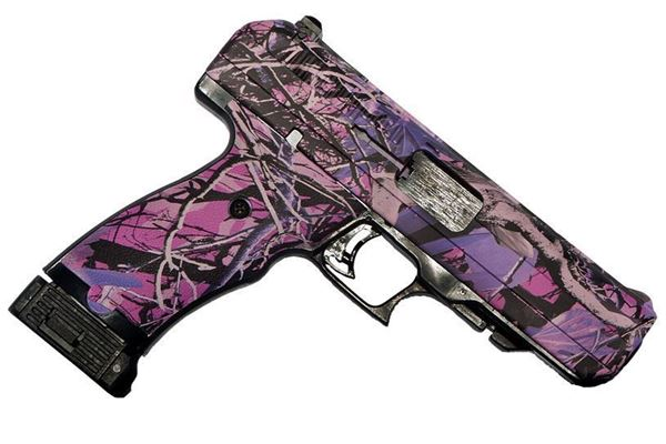 Picture of Hi-Point Firearms JHP 40 S&W Pink Camo Semi-Automatic 10 Round Pistol