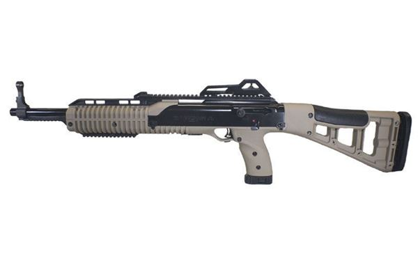 Picture of Hi-Point Firearms Model 4595 45 ACP Flat Dark Earth CA Compliant w/ Paddle Grip 9 Round Carbine