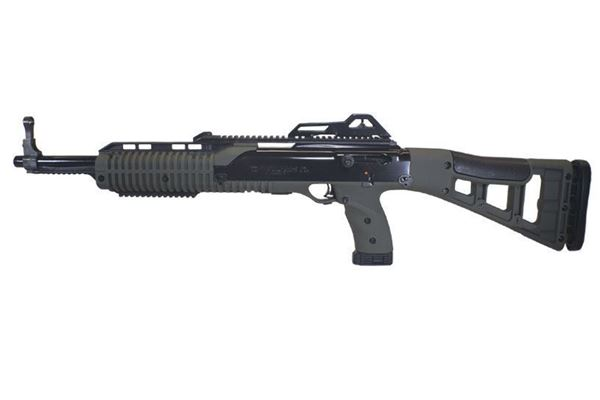 Picture of Hi-Point Firearms Model 4595 45 ACP Olive Drab CA Compliant w/ Paddle Grip 9 Round Carbine