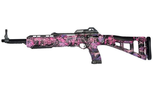 Picture of Hi-Point Firearms Model 4095 40 S&W Pink Camo 10 Round Carbine