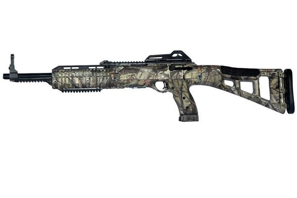 Picture of Hi-Point Firearms Model 4095 40 S&W Woodland Camo w/ 1.5-5X32 Scope w/ Rings Kit 10 Round Carbine