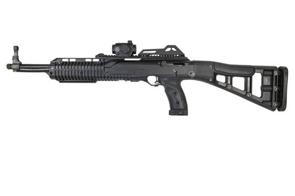 Picture of Hi-Point Firearms Model 4595 45 ACP Black w/ Crimson Trace Red Dot Scope 9 Round Carbine