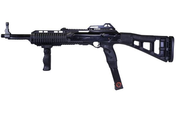 Picture of Hi-Point Firearms Model 4595 45 ACP Black w/ Forward Grip, 2 Redball Mags Kit 9 Round Carbine