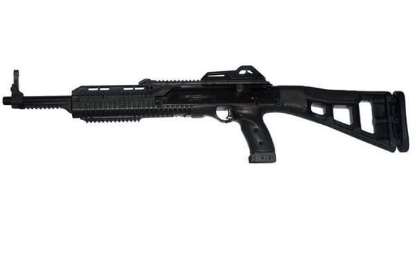 Picture of Hi-Point Firearms Model 4595 45 ACP Black w/ Forward Grip, Light Kit 9 Round Carbine