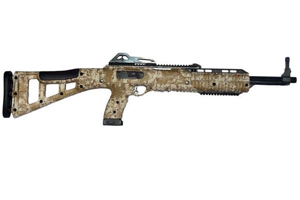 Picture of Hi-Point Firearms Model 4595 45 ACP Desert Digital w/ 1.5-5X32 Scope w/ Rings 9 Round Carbine