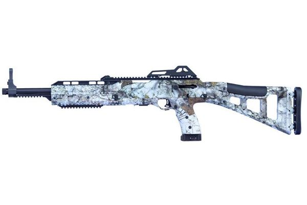 Picture of Hi-Point Firearms Model 4595 45 ACP Mothwing Winter Mimicry 9 Round Carbine