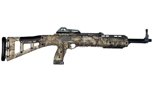Picture of Hi-Point Firearms Model 4595 45 ACP Woodland w/ 1.5-5X32 scope w/ Rings 9 Round Carbine
