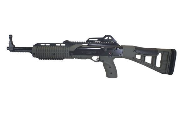 Picture of Hi-Point Firearms Model 995 9mm (Target Stock) Olive Drab 10 Round Carbine