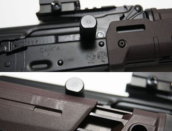 Picture of Circle 10 AK Extended Charging Handle for AKs with Zhukov Folding Stocks