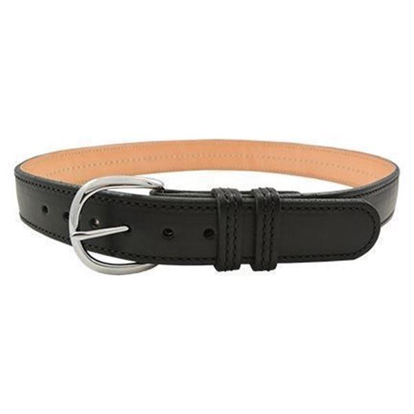 Picture of CompTac Kydex Reinforced Black Leather Gun Belt Gun Belt