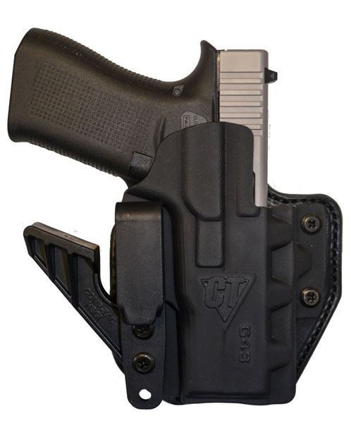 Picture of CompTac eV2 Max Hybrid Appendix IWB Holster - Glock - 43 - RIGHT - Black