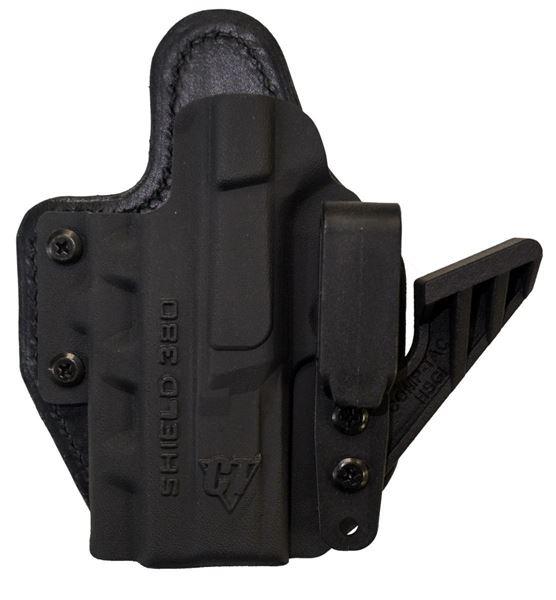 Picture of CompTac eV2 Max Hybrid Appendix IWB Holster - SW - MP Shield .380 EZ - Right Black