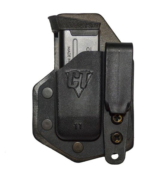 Picture of CompTac eV2 Mag Pouch - #33/32 - Glock 48, 43X - Black -LSC