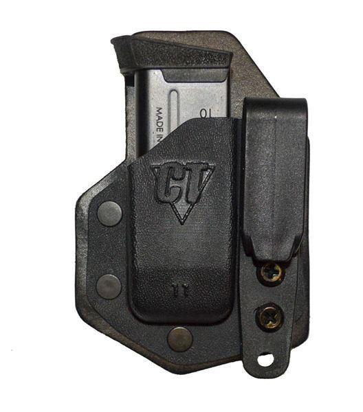 Picture of CompTac eV2 Mag Pouch - #43 - Glock 43 - Black - LSC- Black