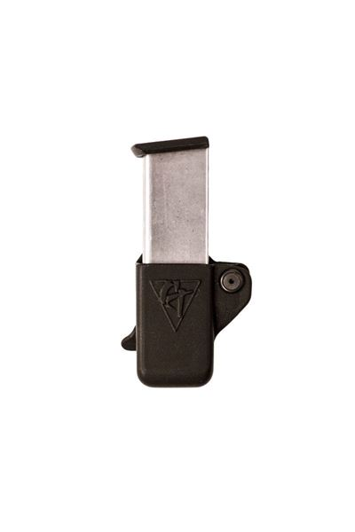 Picture of CompTac Single Mag Pouch OWB Kydex-#1 - 1911 Single Stack, KAHR, Springfield XD - S, Sig 220