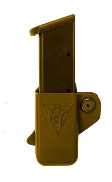 Picture of CompTac Single Mag Pouch OWB Kydex-#21 - CZ P - 01, SP - 01 - Black - LSC