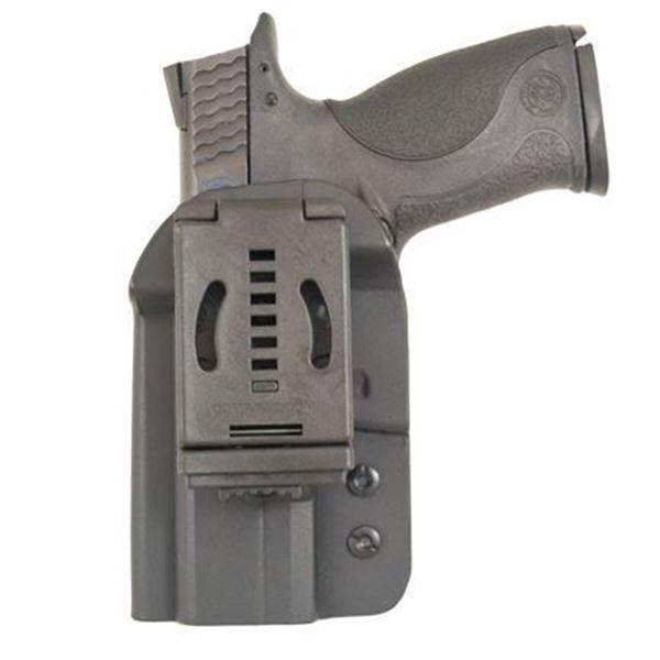 Picture of CompTac QB OWB Kydex Holster - Modular Fit - Size 2 HK VP40, P30/SK, USP, Glock 45, XD/M, Sig 226, 320