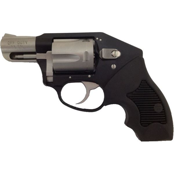 Picture of Charter Arms Off Duty 38 Special 5rd Black & Stainless Steel Revolver