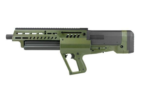 "Picture of IWI TAVOR TS12 Bullpup Shotgun 12GA 18.5"" Barrel 3"" 15rd Tube Feed Flattop OD Green"
