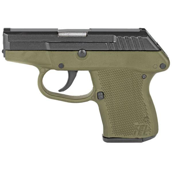 "Picture of Kel-Tec P32 Black/Green 32 ACP 2.7"" Barrel 7 Round Pistol"