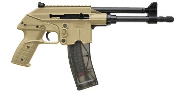 "Picture of Kel-Tec PLR22 Tan .22LR 10.2"" Barrel 25 Round Pistol"