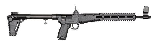 """Picture of Kel-Tec SUB2000  Blued Black for Glock 23 40Cal 16"""" Barrel 10 Round Semi-Automatic Rifle"""