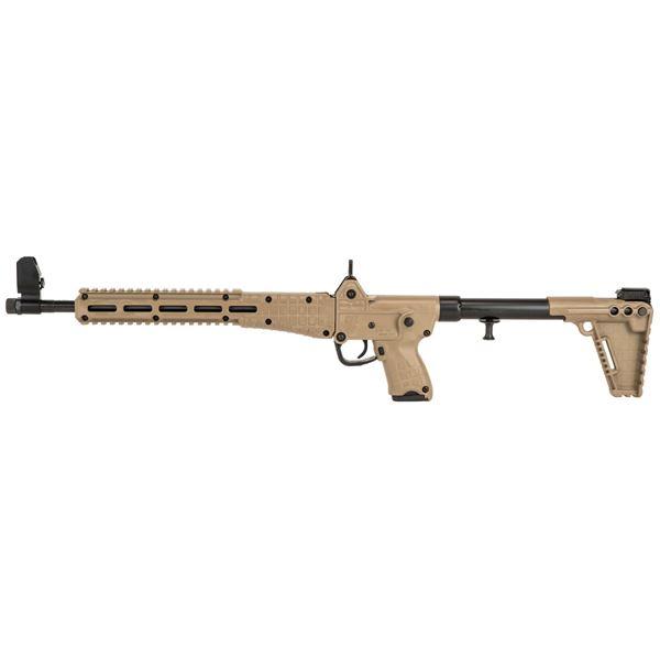 "Picture of Kel-Tec SUB2000 Tan for Glock 23 40Cal 16"" Barrel 10 Round Semi-Automatic Rifle"