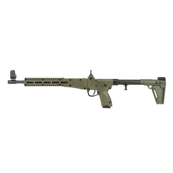 """Picture of Kel-Tec SUB2000 Green for Glock 22 40Cal 16"""" Barrel 15 Round Semi-Automatic Rifle"""
