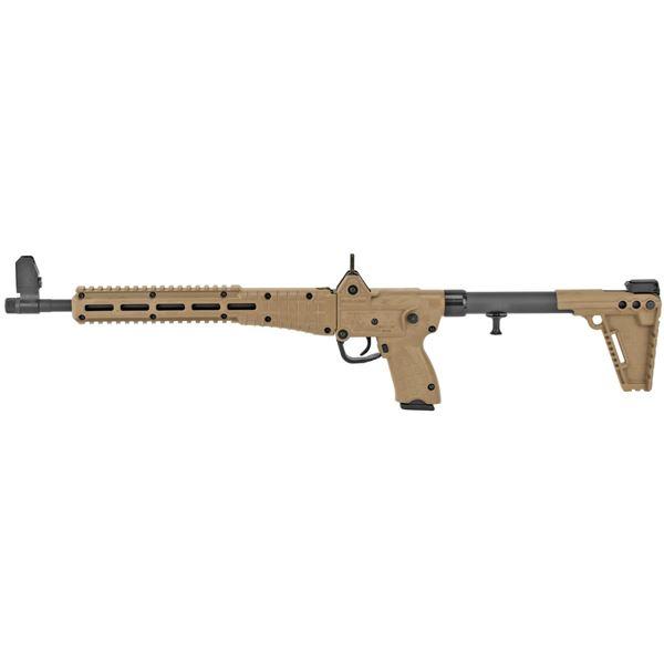 "Picture of Kel-Tec SUB2000 Tan for Glock 22 40Cal 16"" Barrel 15 Round Semi-Automatic Rifle"