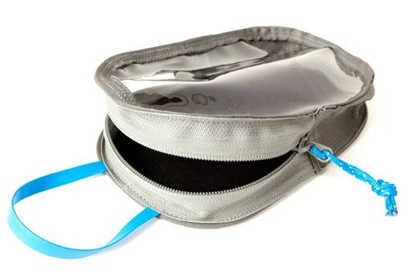 """Picture of Blue Force Gear-Large Utility Dapper Pouch - 7"""" X 9"""" - Wolf Gray"""