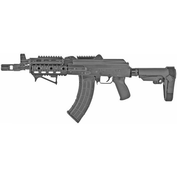 Picture of Zastava ZPAP92  AK47 Pistol 7.62x39 Tactical Brace Quad Rail