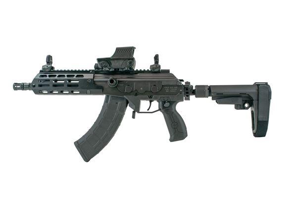 """Picture of IWI GALIL ACE Pistol GEN2 7.62x39mm 13.0"""" Barrel 30RD FreeFloat MLOK Side Folding Stabilzer Brace"""