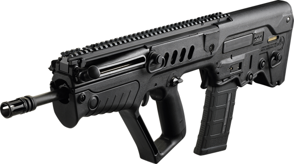 "Picture of IWI TAVOR X95 Bullpup Rifle .300 AAC 16.5"" Barrel RH 30rd BUIS  Flattop Black"