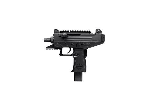 "Picture of IWI UZI PRO 9mm Luger 4.5"" Threaded Barrel Adjustable Sights (2x)25 Round Magazine Pistol"