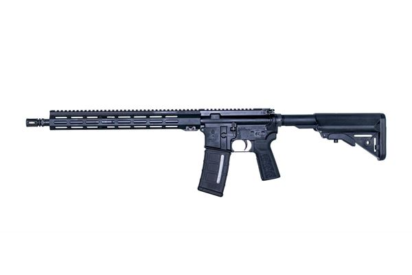 """Picture of IWI ZION Z15 5.56 NATO Tactical Rifle 16"""" Barrel 15"""" Freefloat MLOK 30RD PMAG Black"""