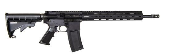 Picture of Troy SPC M4A3 Semi-Auto Rifle 5.56 Optic Ready Black Finish