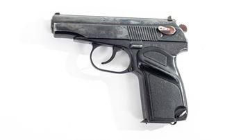 Picture of Arsenal EK34375  9x18mm Makarov 8 Round Bulgarian Pistol 1994