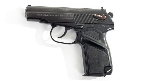 Picture of Arsenal IN370586 9x18mm Makarov 8 Round Bulgarian Pistol 1997