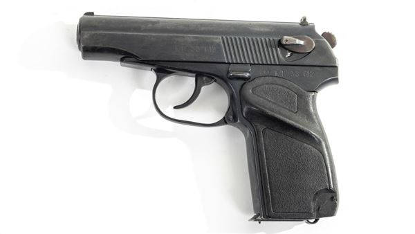 Picture of Arsenal KT33612 9x18mm Makarov 8 Round Bulgarian Pistol 1993