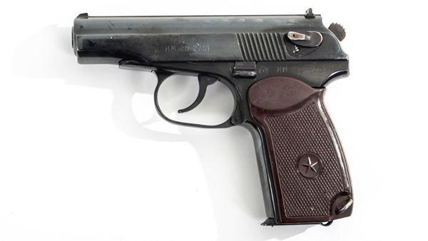 Picture of Arsenal EM252751 9x18mm Makarov 8 Round Bulgarian Pistol 1985