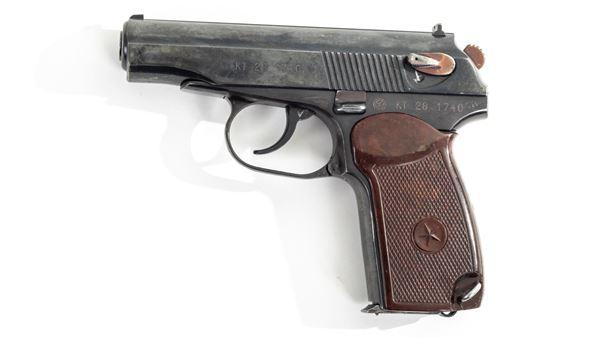 Picture of Arsenal KT281740 9x18mm Makarov 8 Round Bulgarian Pistol 1988